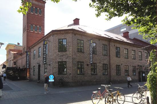 Välkommen till Halmstad Turistbyrå vid Lilla Torg mitt i centrala Halmstad