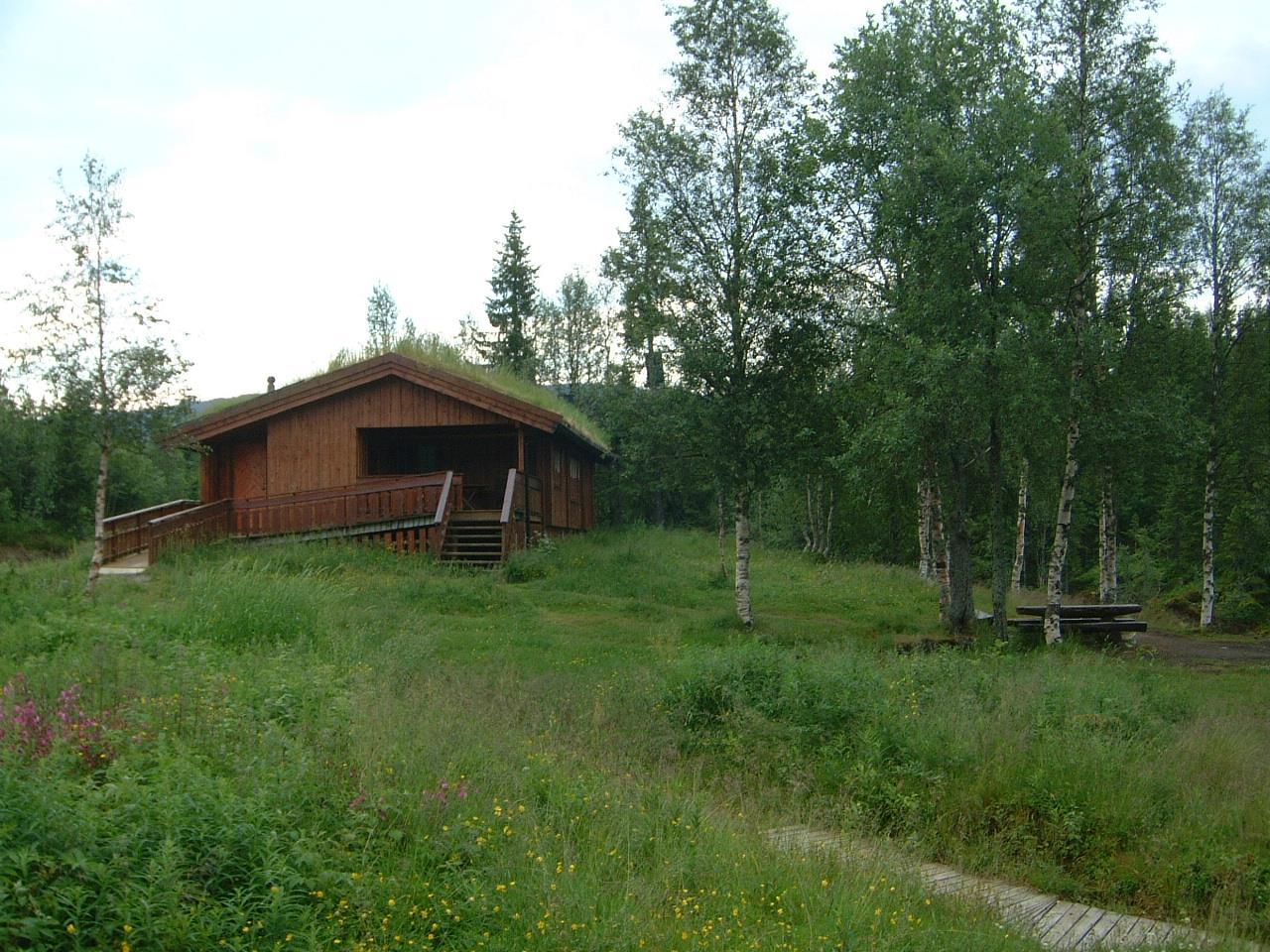Lustadstua (Lustad Cabin)