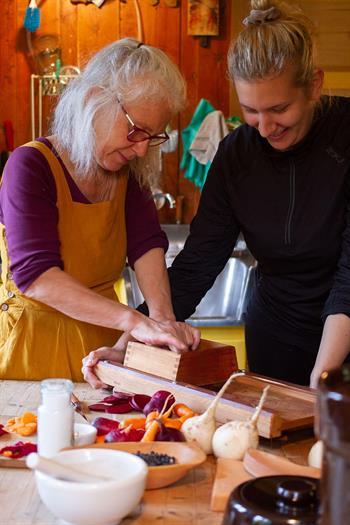 Fermentering på kjøkkenbenken