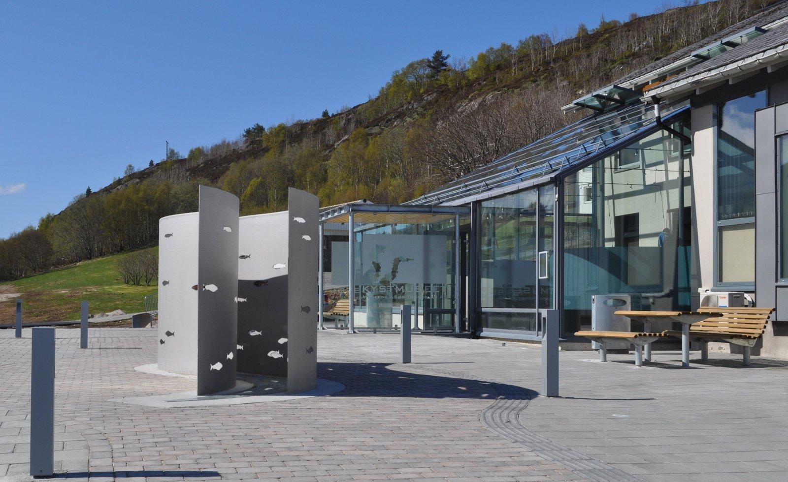 Kystmuseet inngangsparti. Copyright: Kystmuseet i Sør-Trøndelag