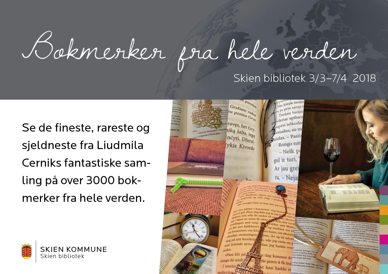Bokmerker fra hele verden