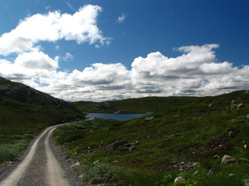 Gøystvann is one of the lakes you can fish for trouts at Hardangervidda. , © Hans - Dieter Fleger