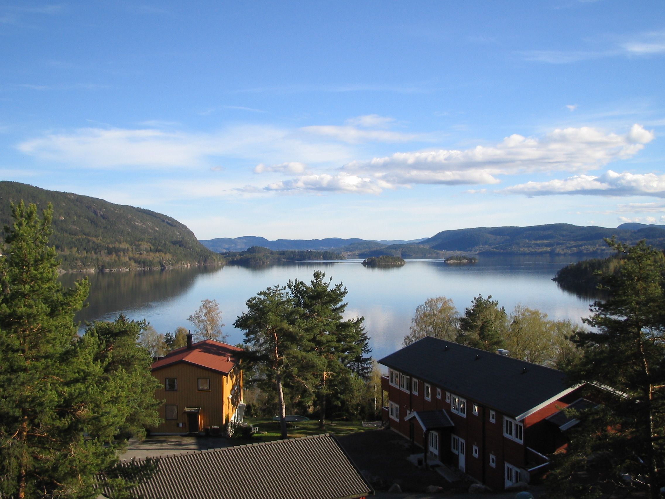 Hostel with a view over lake Norsjø, © Norsjø Ungdomssenter