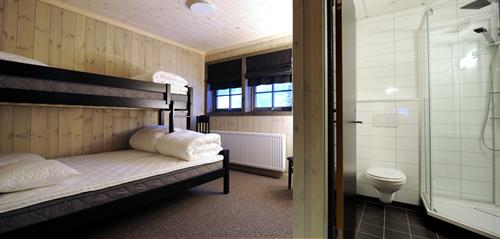 leiligheter og rom med sengeplass til totalt 18 stk.  , © Tom Riis