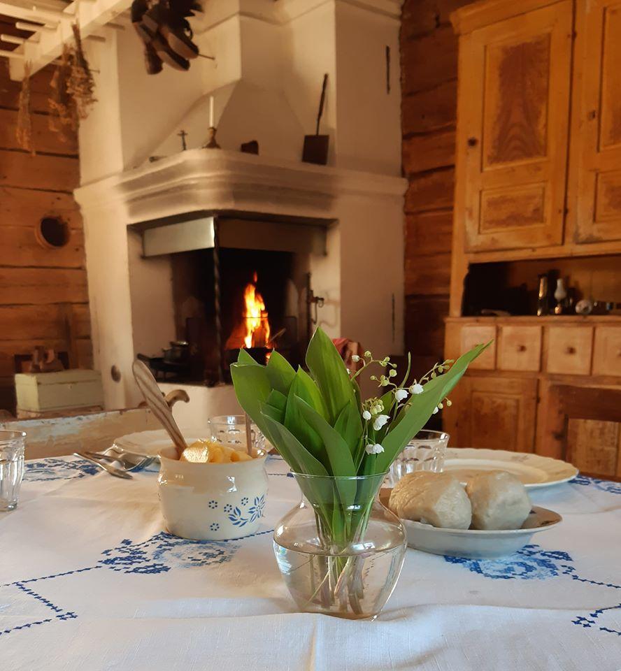 Köket i Pehrsgården.