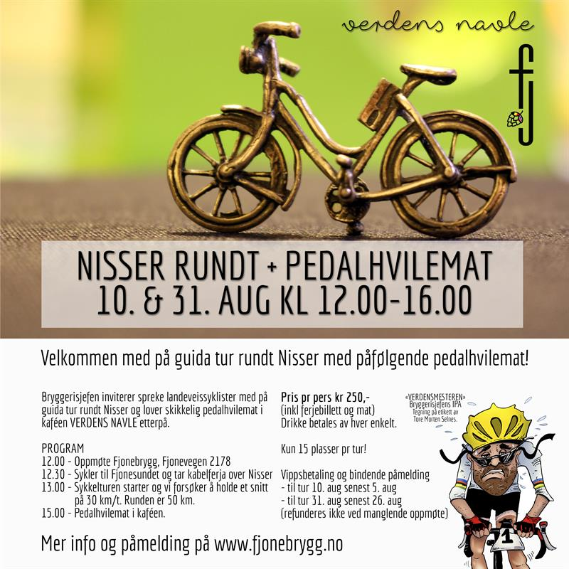NISSER RUNDT + PEDALHVILEMAT - Vest-Telemark.no