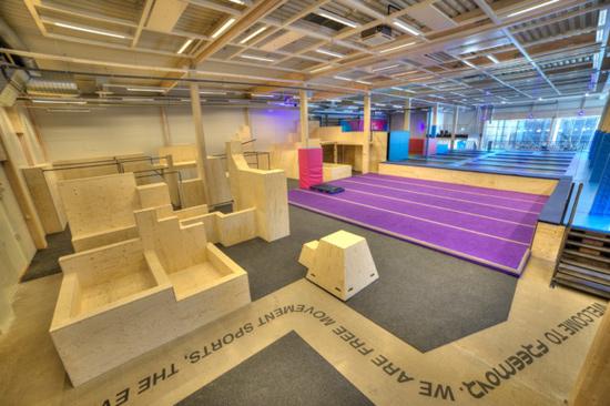 Freemovr är en idrottsanläggning och stadion i Halmstad