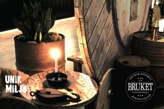Unik miljö och aktiviteter bjuder BRUKET i Varberg på, både för konferens och privata besök.