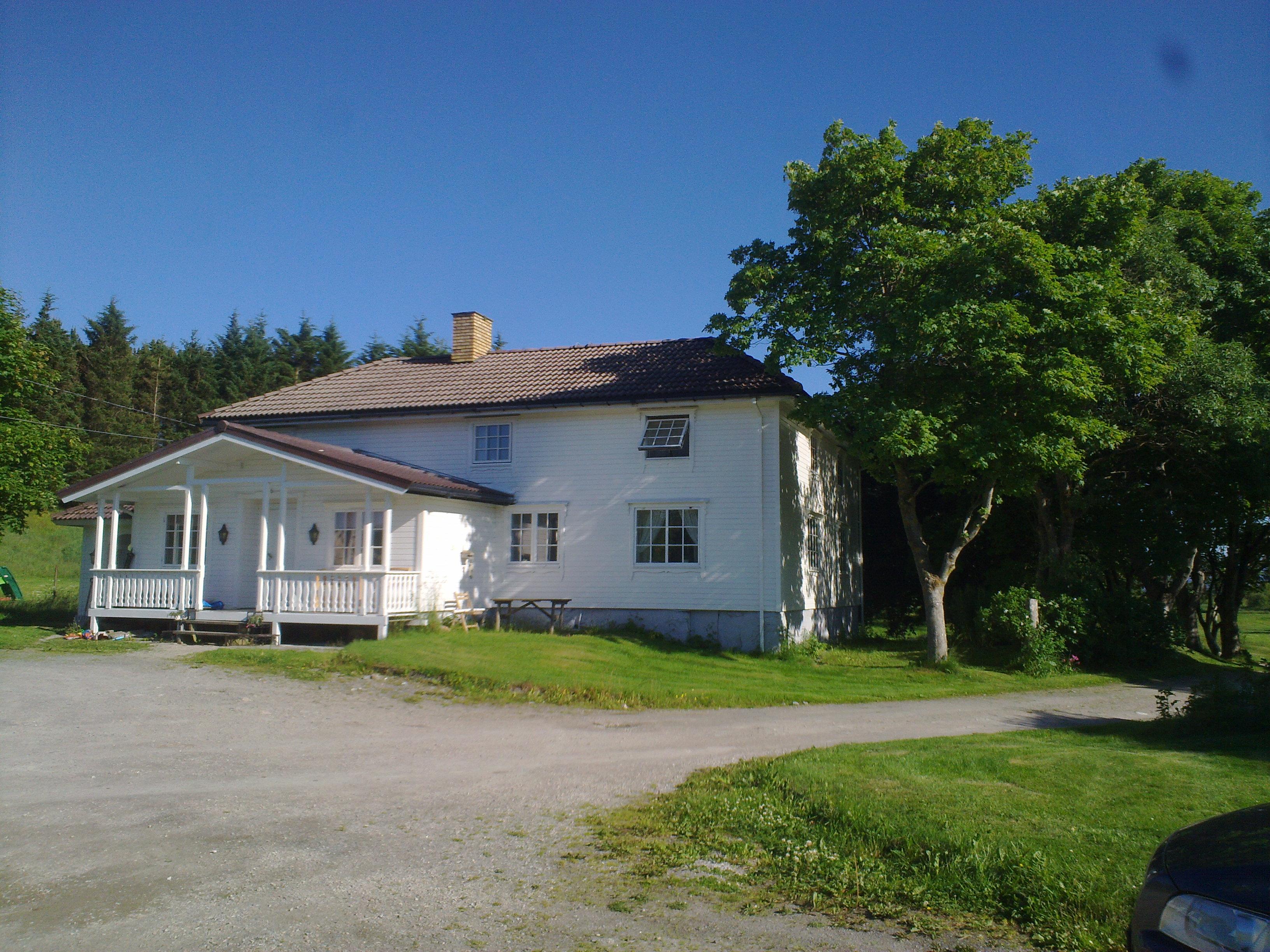 Hovedhus. Copyright: Fjellvær Gjestegård
