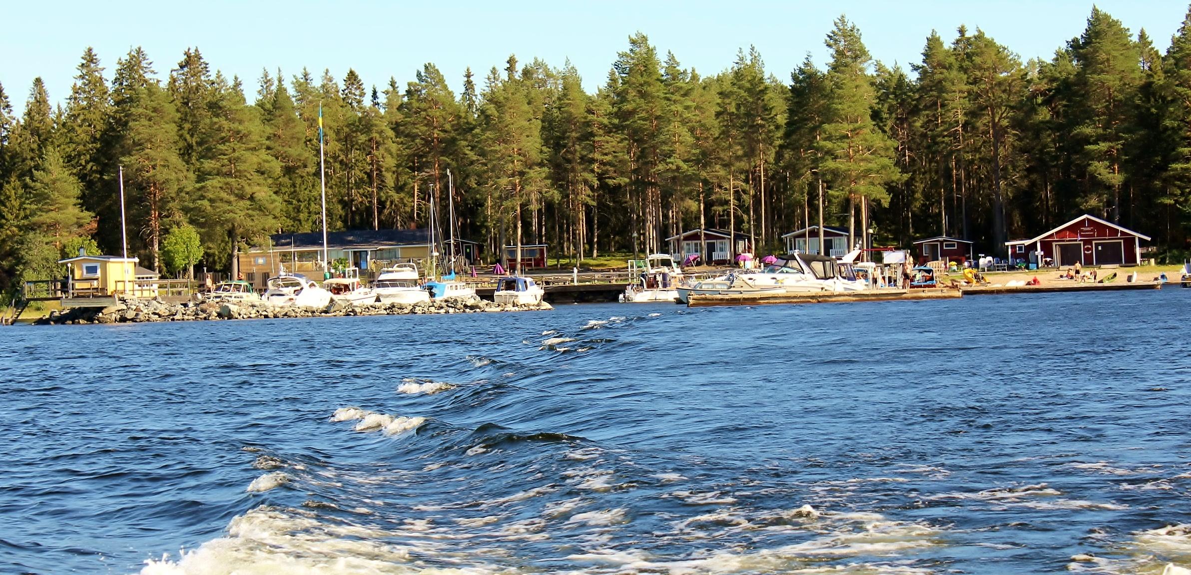 Svinöra - Båtklubbens anläggning
