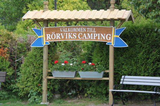 Rörviks Camping ligger på Onsalahalvön, söder om Göteborg.