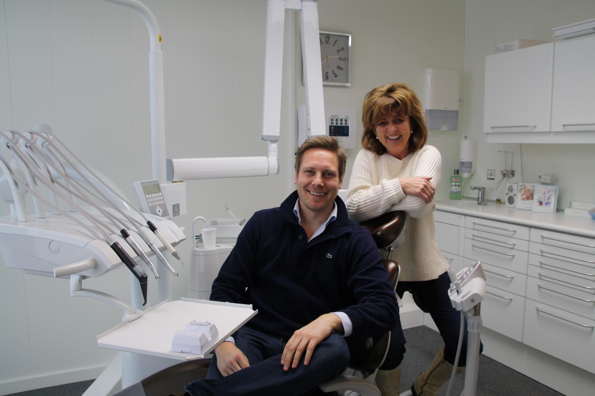 Tannlege og tannpleier på Hovden