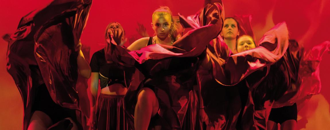 SHADES OF LOVE – Halmstads kulturskolas årliga dansföreställningar