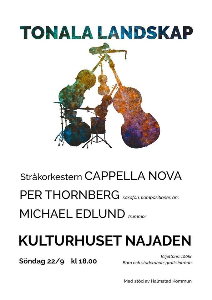 Tonala landskap med Cappella Nova, Per Thornberg och Michael Edlund