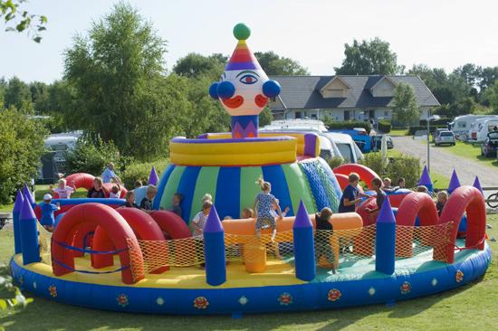 Roligt för barnen på Haverdals camping
