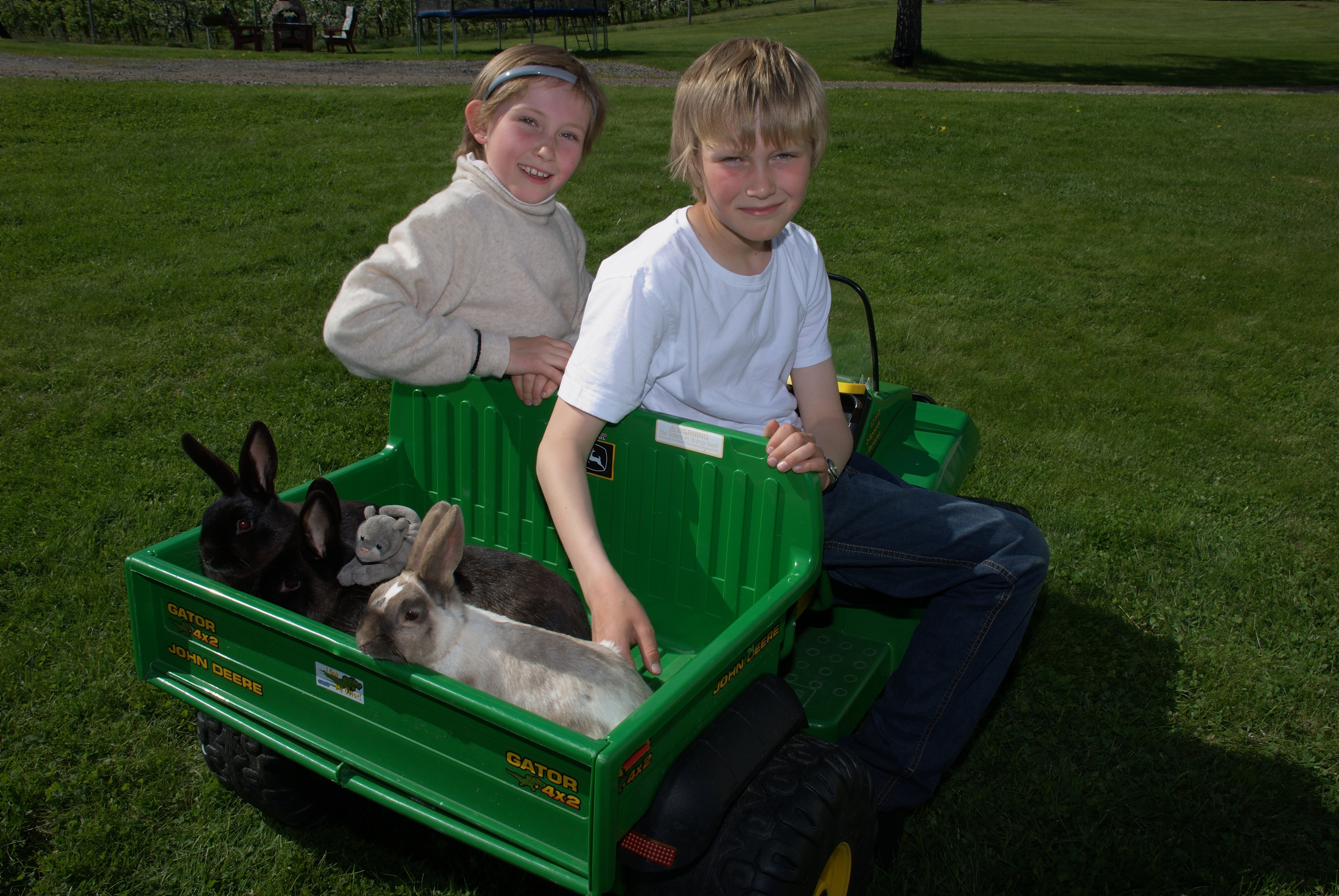 På gården er det dyr og aktiviteter for barn. , © Bø gardsturisme