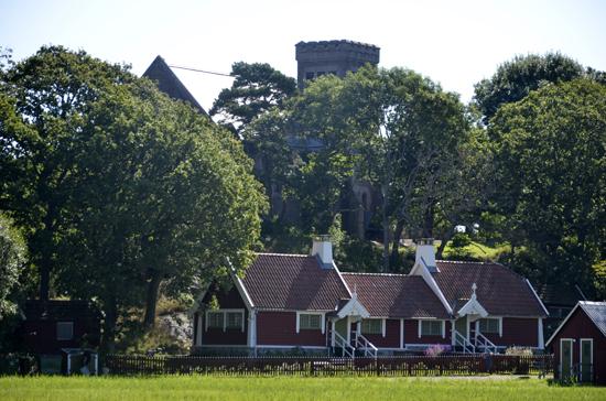 Bo bekvämt i Allmogebyn på Tjolöholms slott som är inrett i sekelskiftesstil