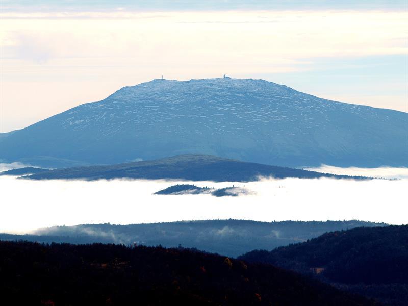 Tronfjellet mountain