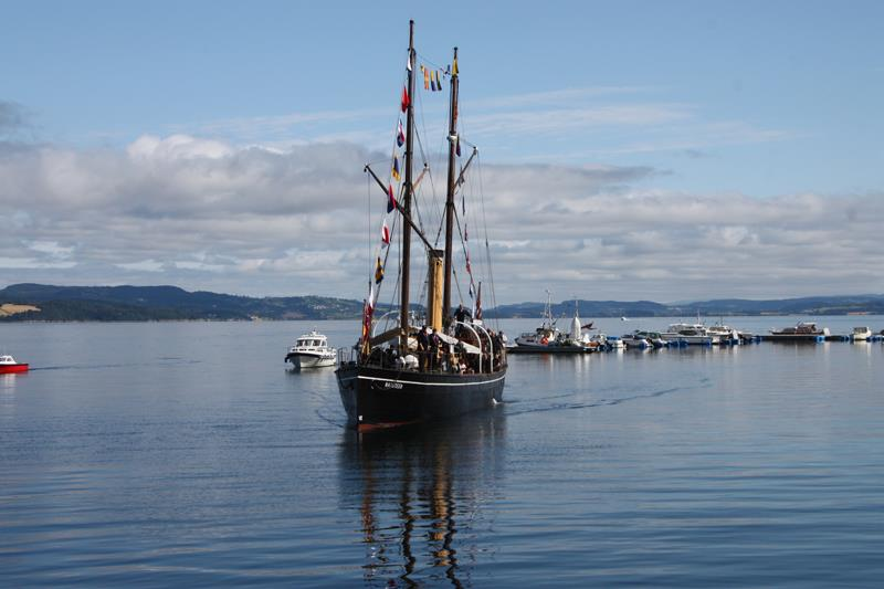 Day 1 of An adventurous voyage on the Trondheimsfjorden