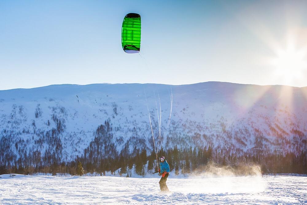 Snøkiting i Namdalen! Tundra Tours