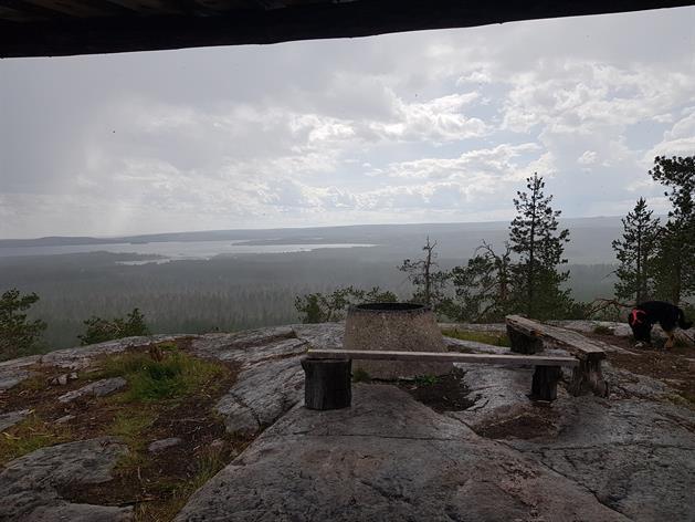Falkberget Utsikt Vindskydd, Evelina Sandberg