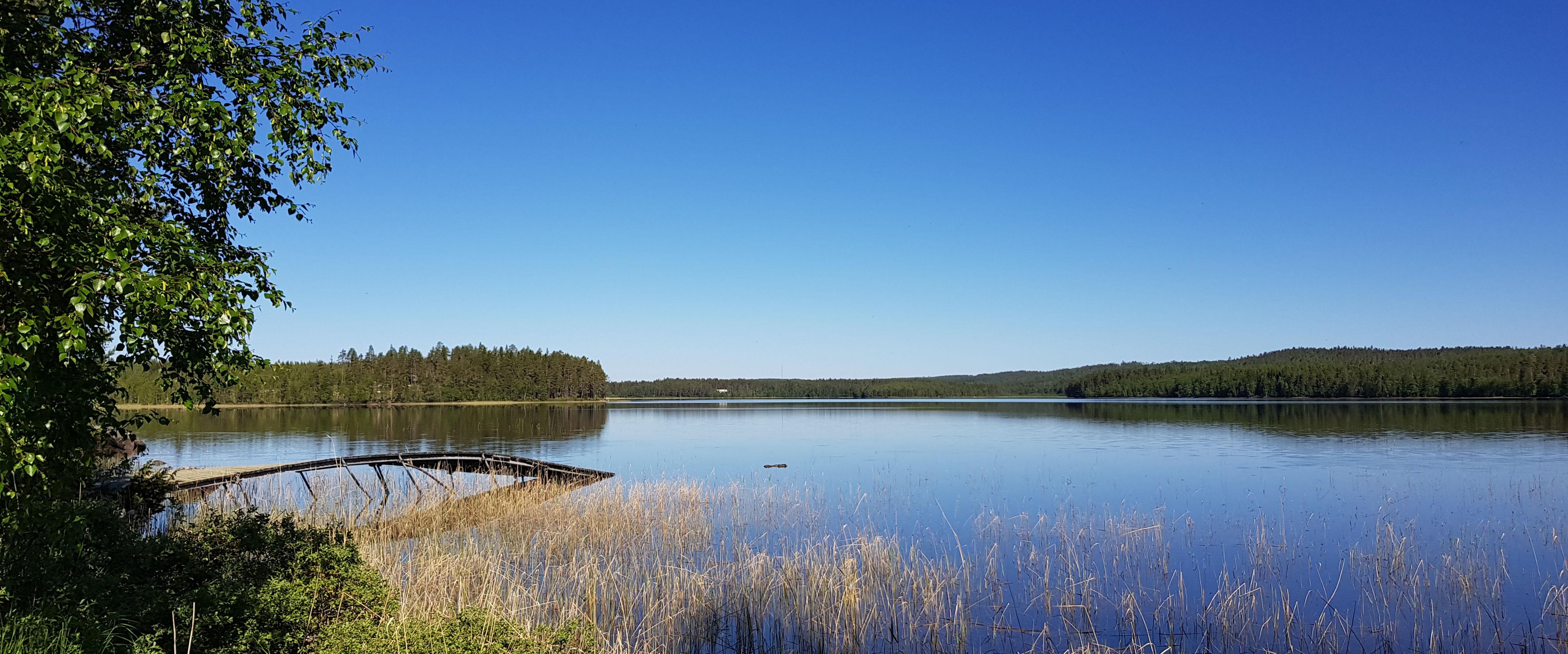 Harrträsket Sjön