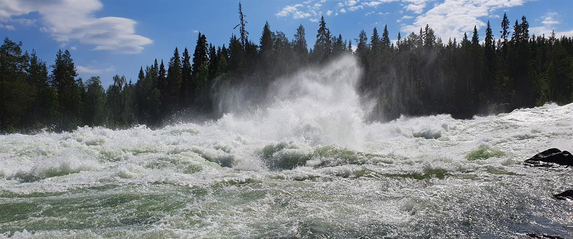 Power in the whitewater