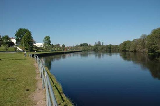 Fiska i Lagan och bo på Laholms Stadshotell