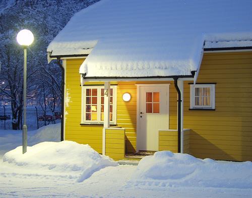 Rjukan Hytteby har små hytter for 2 personer., © Knut Erik Jacobsen