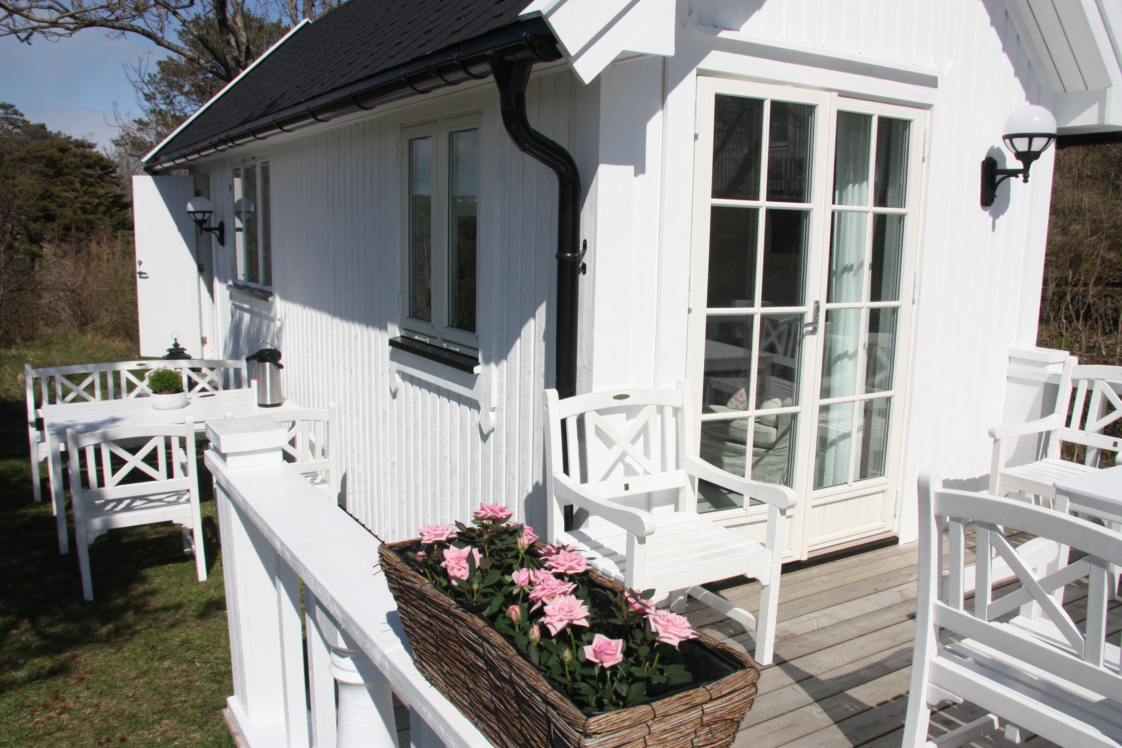 Langesund Bad ligger idyllisk til ved sjøen i Langesund, Telemark, © Langesund Bad