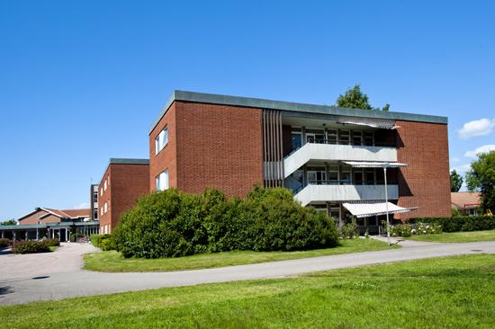 Krusbärets Vandrarhem ligger centralt i Halmstads östra delar