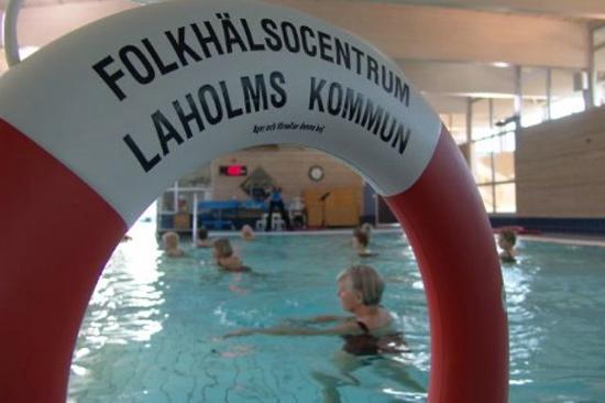 Vattengympa på Folkhälsocentrum i Laholm