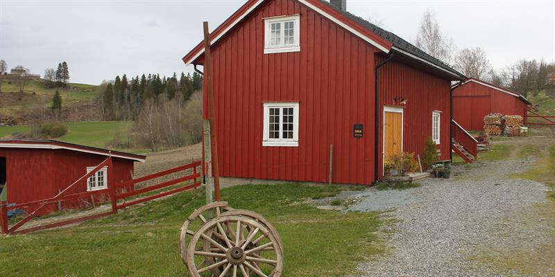 The smitty at Gulburet along the Golden Road in Inderøy, North-Trøndelag. Copyright: Gulburet