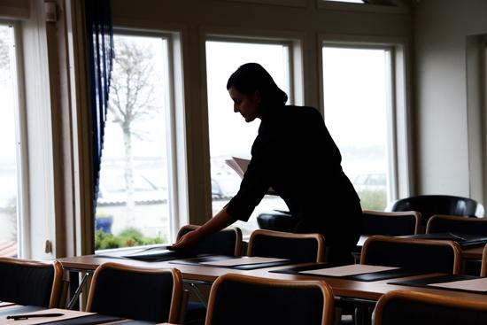 Personalen på apelviken.se konferens i Varberg anpassar lokaler och utrustning efter deltagarnas behov och önskemål