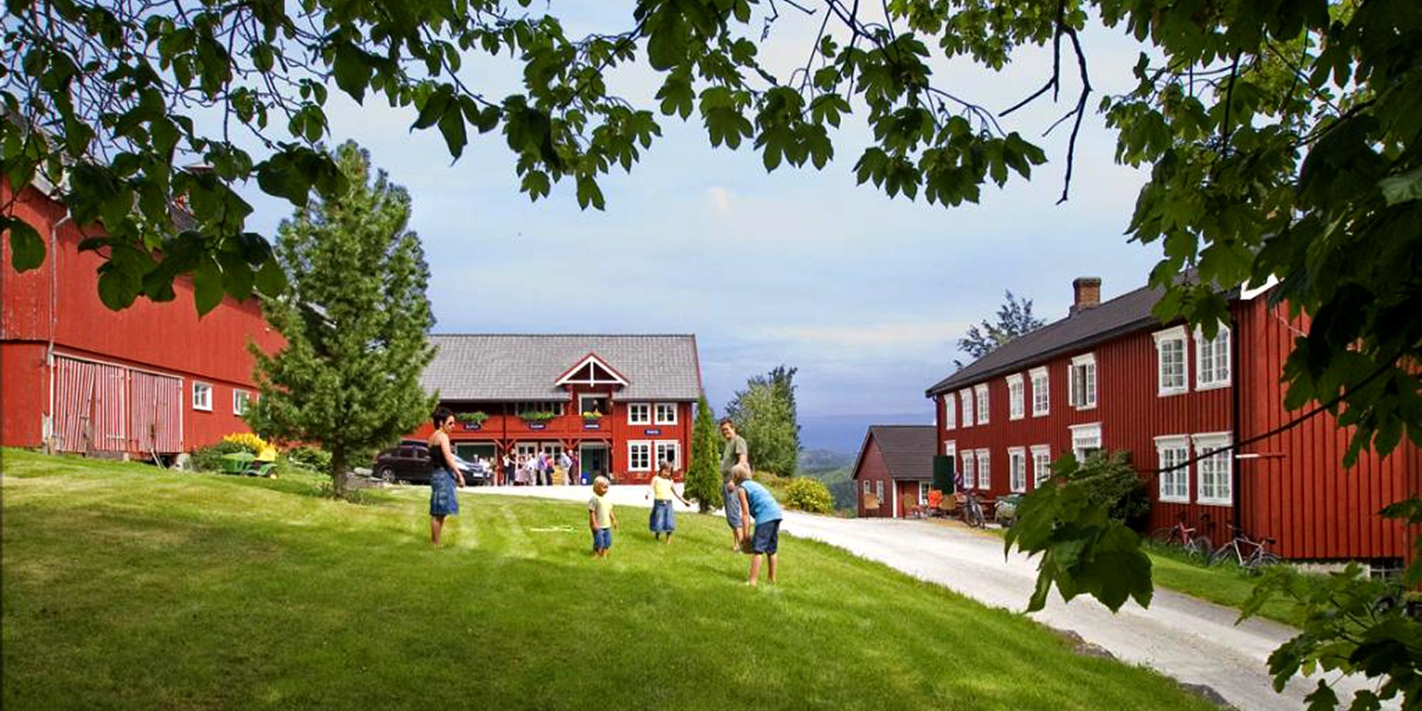 Berg Gård, Slakteriloftet