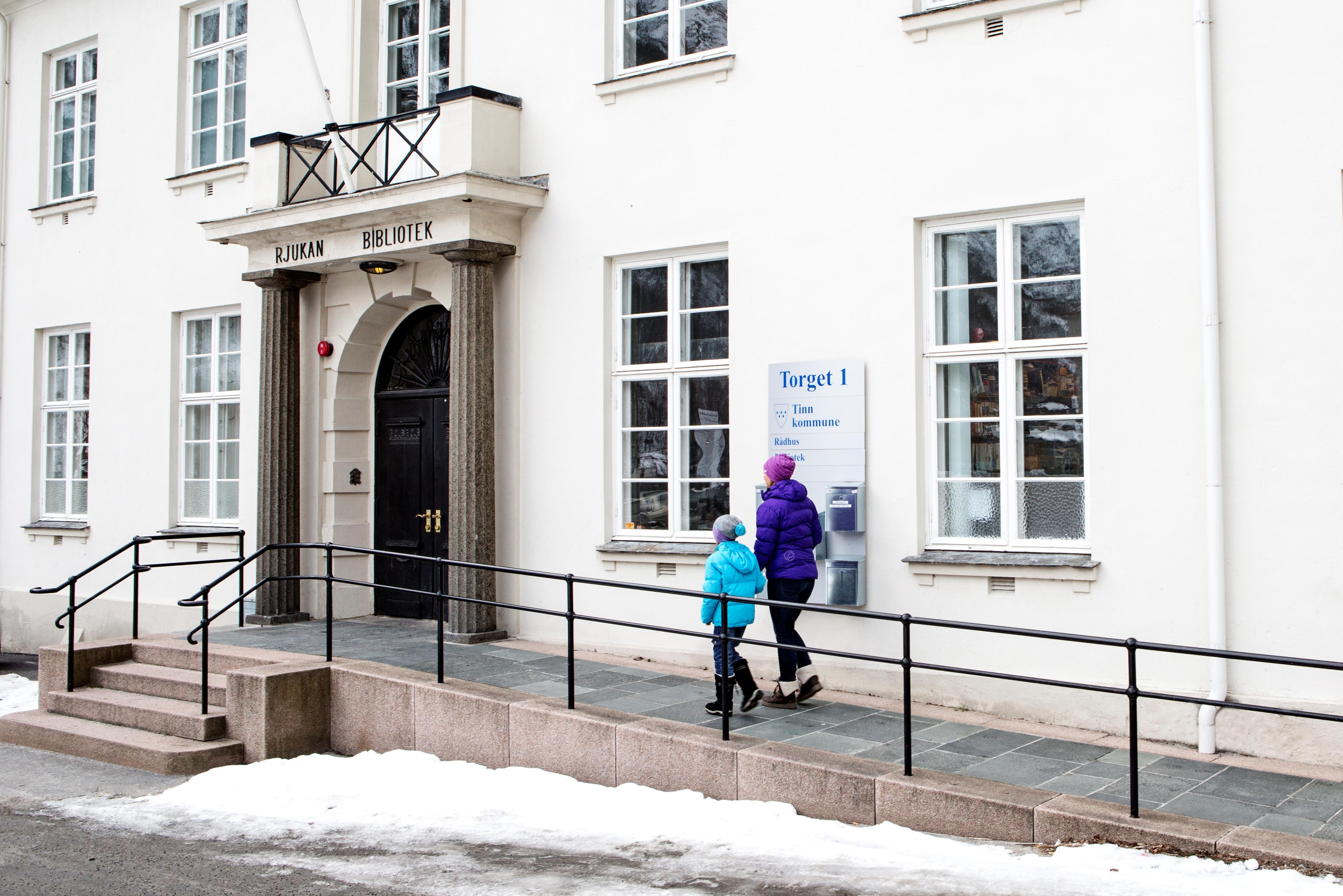 Bokkveld med Einar Moen og Ottar Lien - Rjukan bibliotek