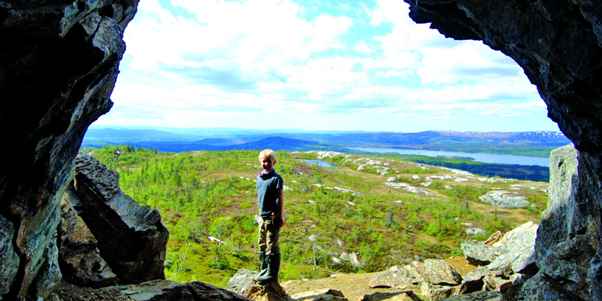 Mokk farm - the mine entrance. Copyright: Mokk gård