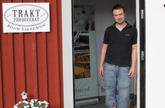 Välkommen till Hjortseryds Gårdsbutik och handla kött och korv från egna hjorthägnhet.