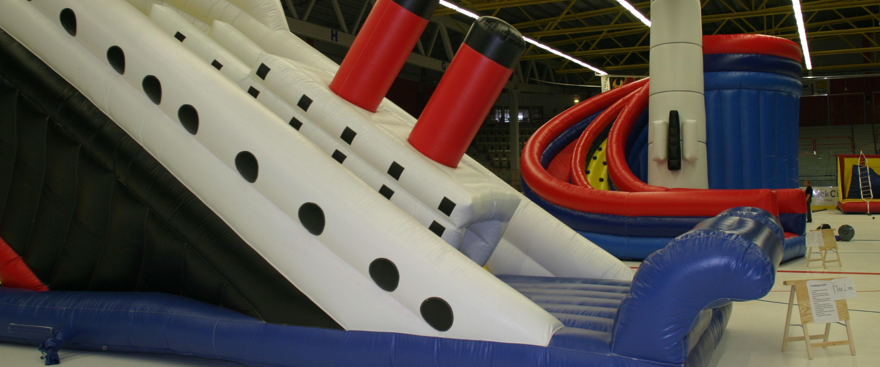 Bouncy ship