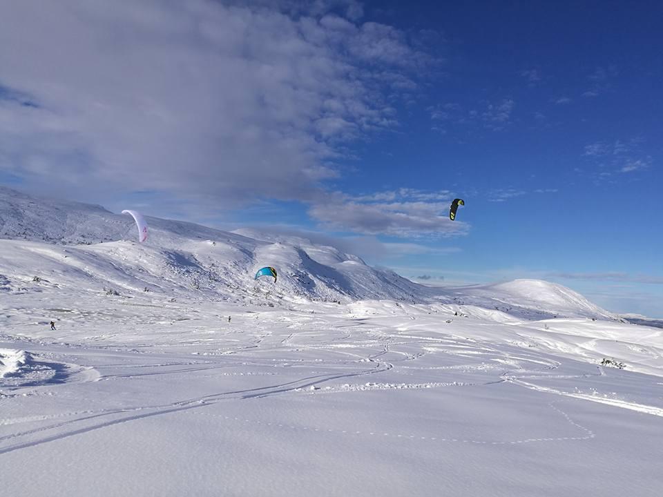 Lufsjå Challende - Kite Race