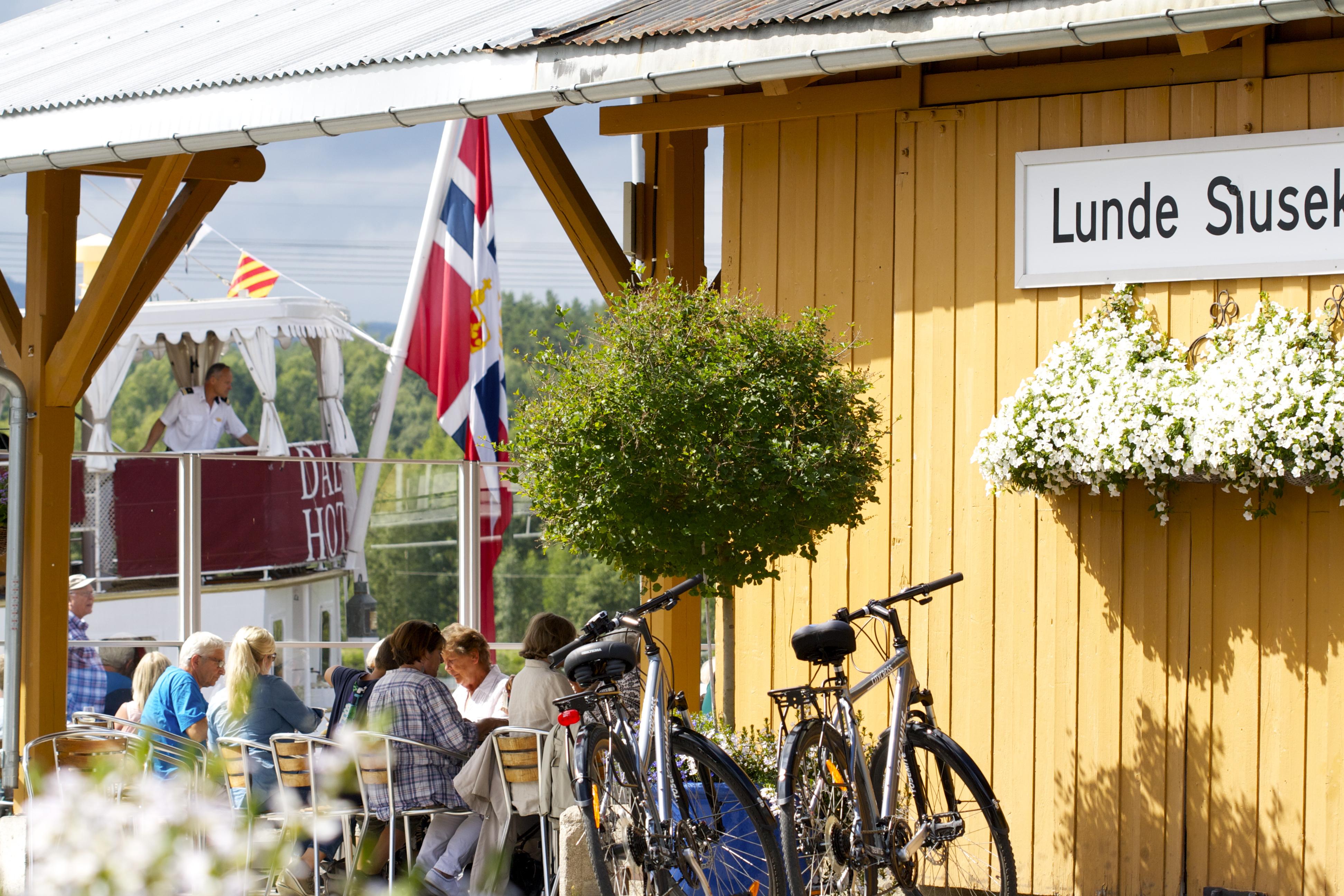 Lunde Slusekro, © Telemark Kanalcamping
