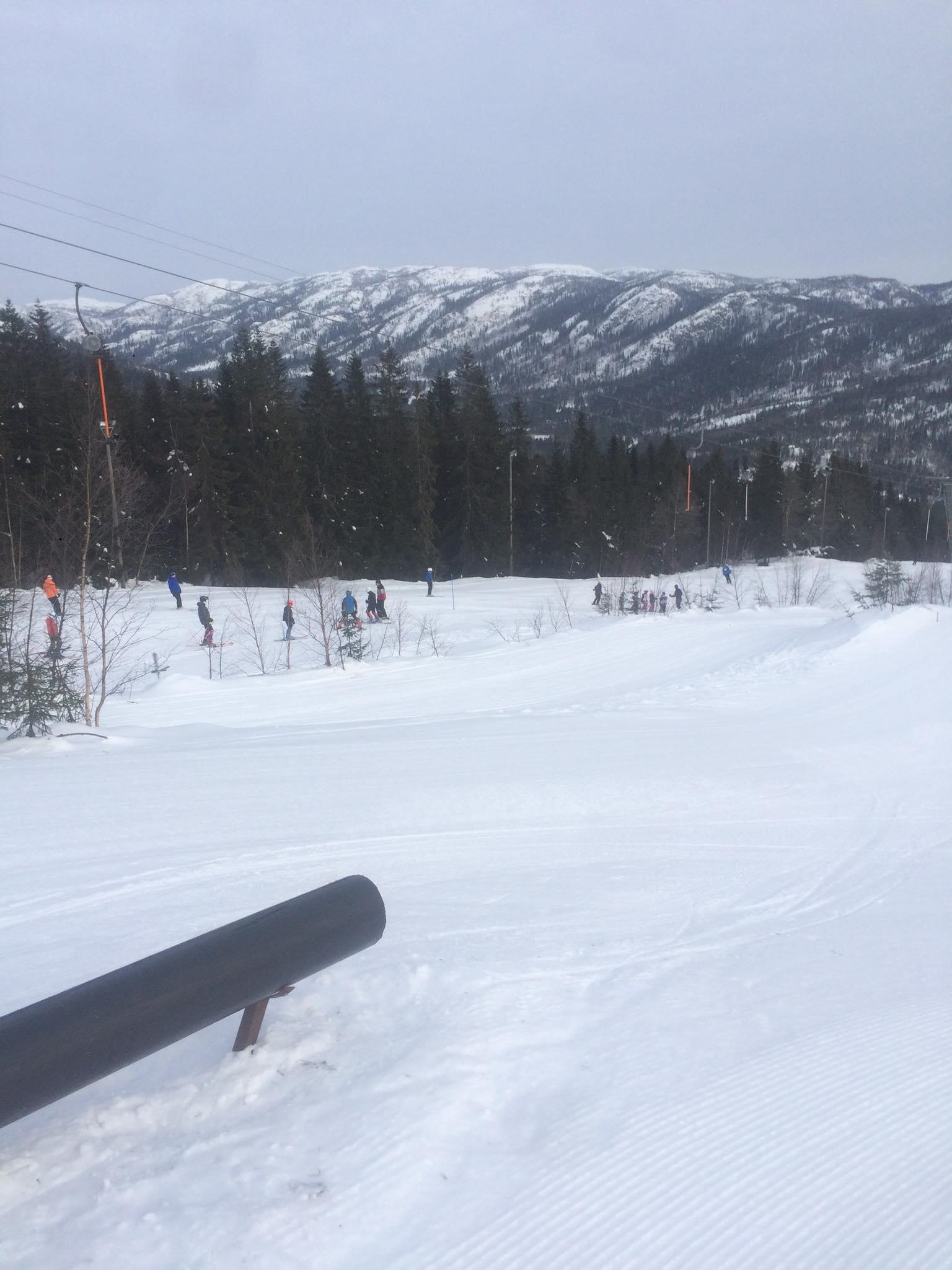 Nonstop ski i skisenteret