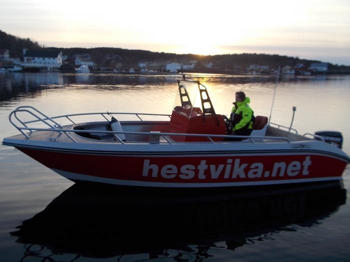 Hestvika - båtutleie