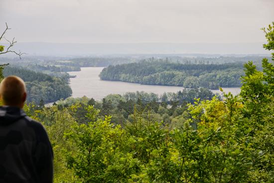 Utsikt från Spishall åt sydväst