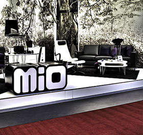 Interiör bild med mio, Mio