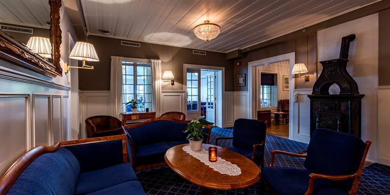 Jægtvolden Fjordhotell - lounge. Copyright: Jægtvolden Fjordhotell