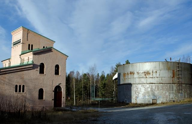 Kraftstation Sikfors Foto: Lasse Holm