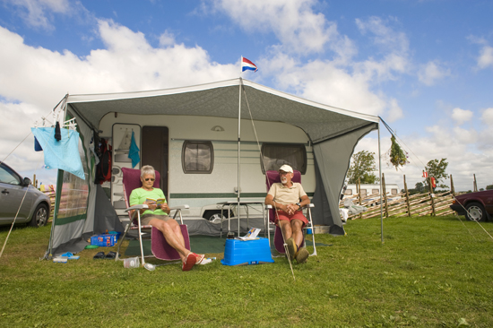 Nöjda campare på Rödlix
