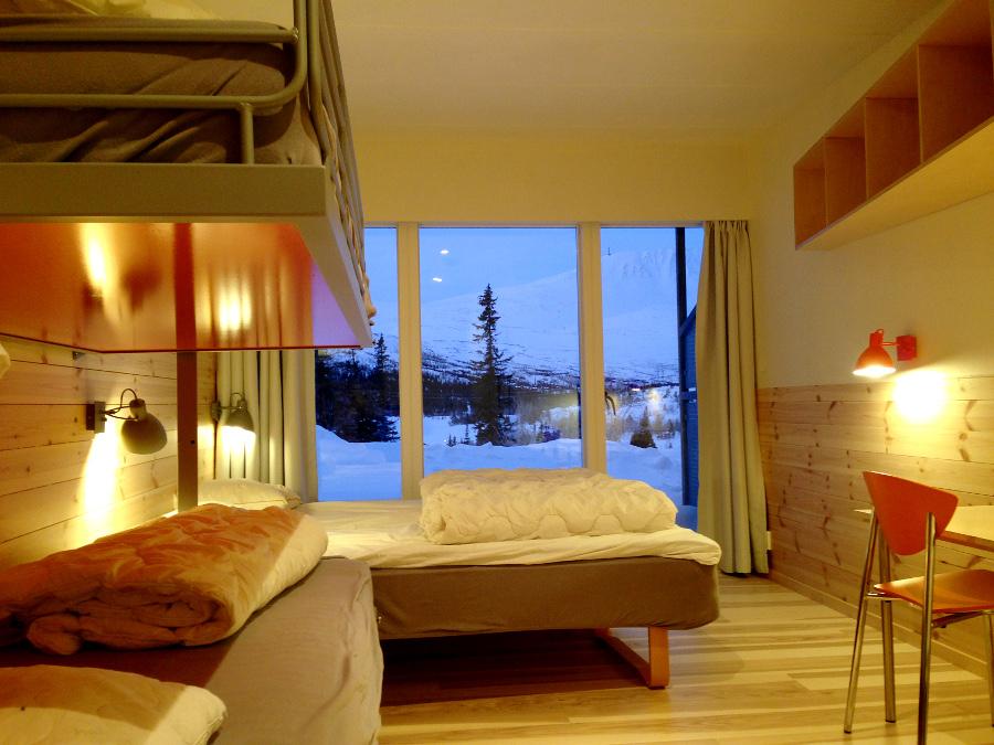 Nyoppussede rom på Kvitåvatn Fjellstoge, © Kvitåvatn Fjellstoge