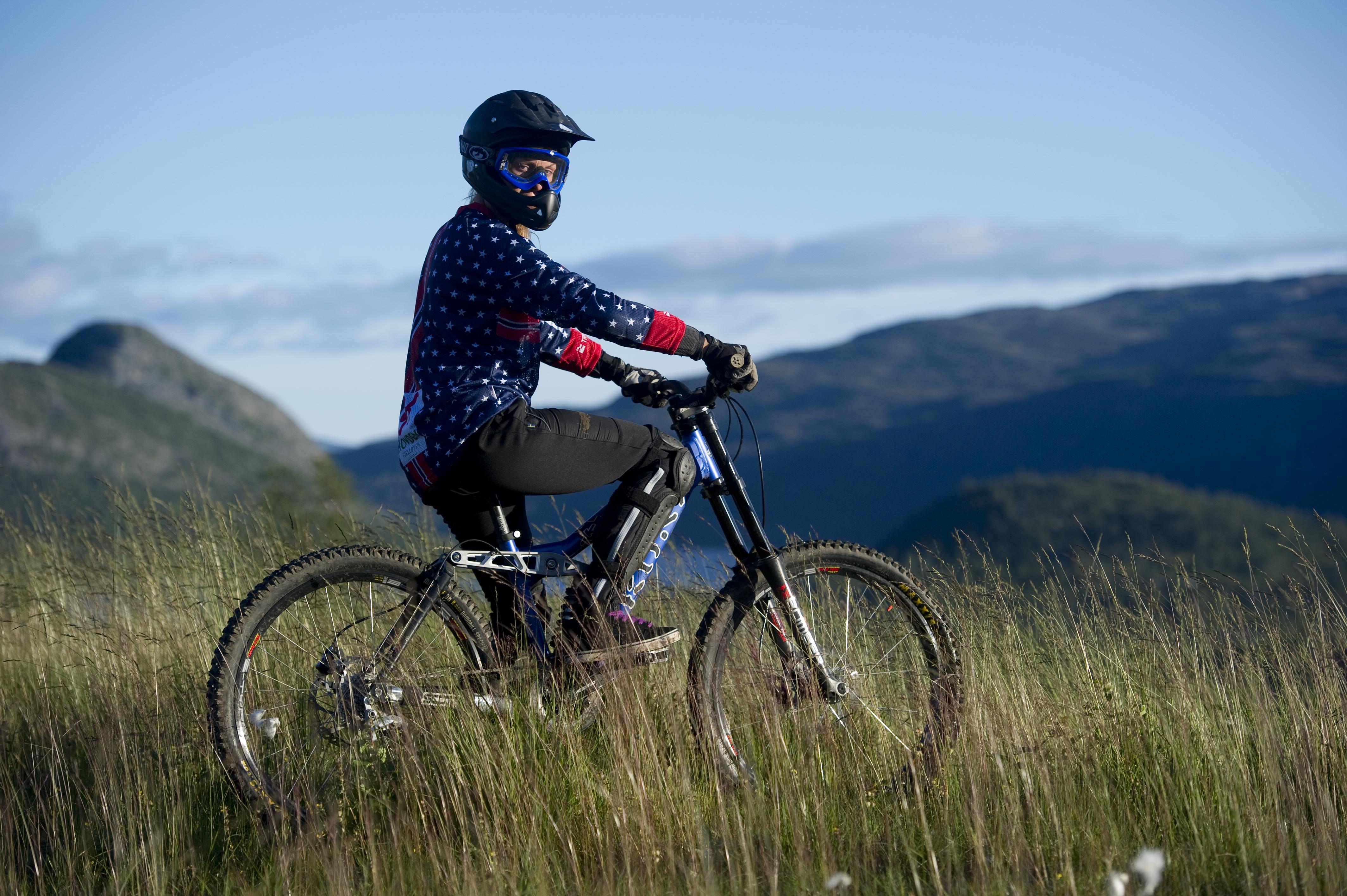 Test deg på Downhillsykkelen